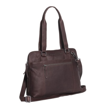 Leather Shoulder Bag Brown Cara