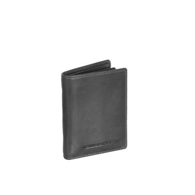 Leather Wallet Black Mason