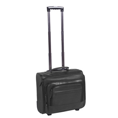 Photo of Leather Trolley Black Xavi