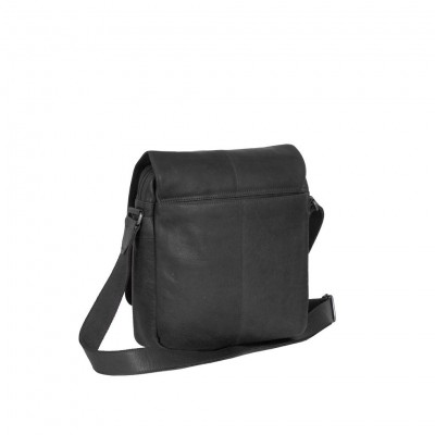 Photo of Leather Shoulder Bag Black Raphael