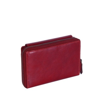 Photo of Leather Wallet Red Shannon