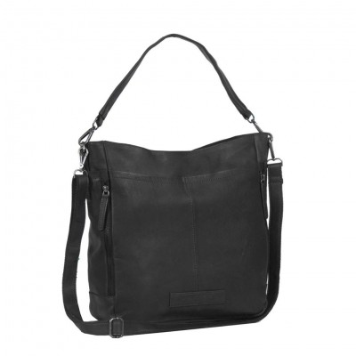 Leather Tote Bag Black Jael
