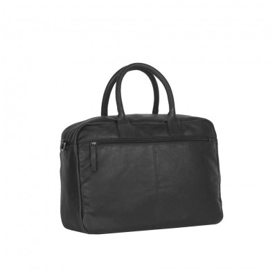 Photo of Leather Laptop Bag Black Julius