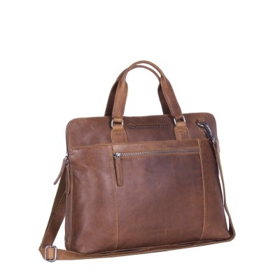 Photo of Leather Laptop Bag Cognac Hana