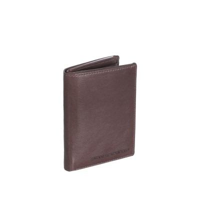 Leather Wallet Brown Hank