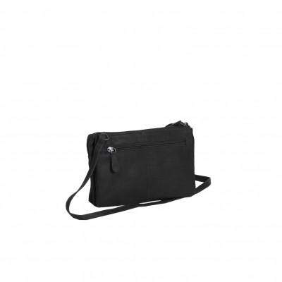 Photo of Leather Shoulder Bag Black Sadie