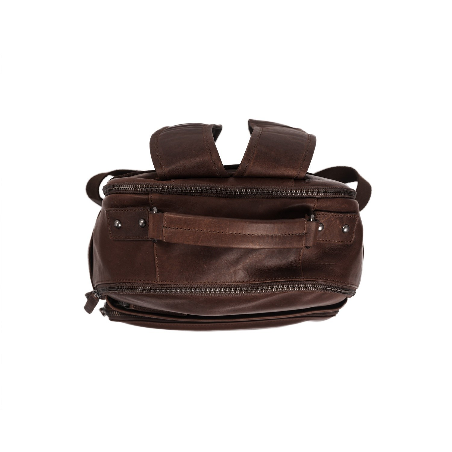 Image of Leather Backpack Brown Austin 18617ffb5b