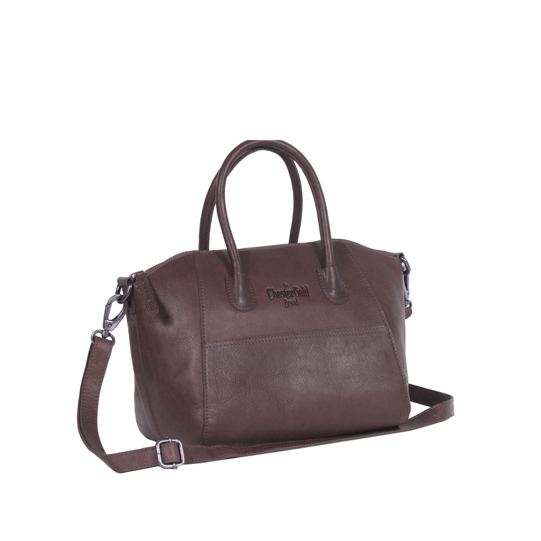 4efed99d987d Leather Shoulder Bag Brown Clara
