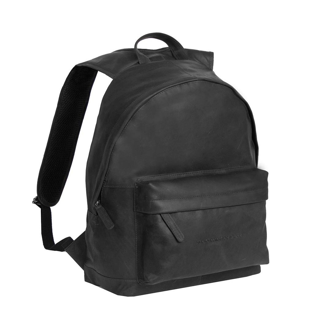 Image de Chesterfield Leather Backpack Black Medium Andrew