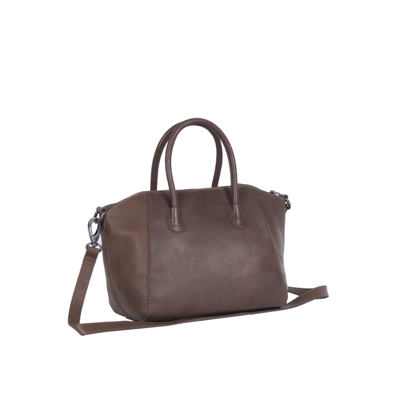573c792d7cd0 Image of Leather Shoulder Bag Brown Alexa