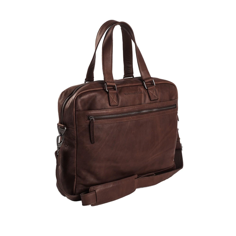 Imagem de Chesterfield Leather Laptop Bag Brown Blackburn