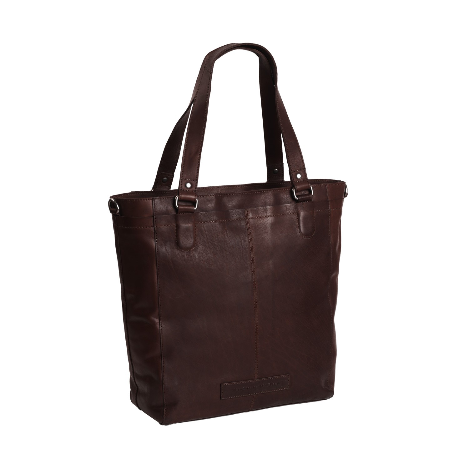 Bilde av Chesterfield Leather Tote Bag Brown Jade