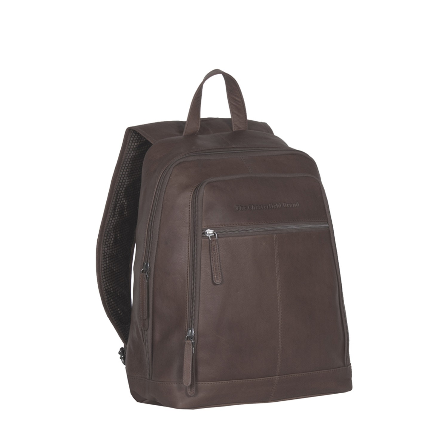 Image de Chesterfield Leather Backpack Brown James