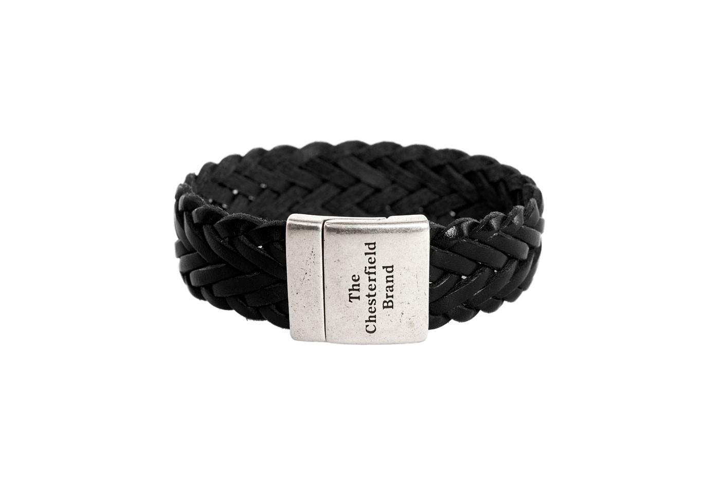 Imagem de Chesterfield Leather Bracelet Black Avatar