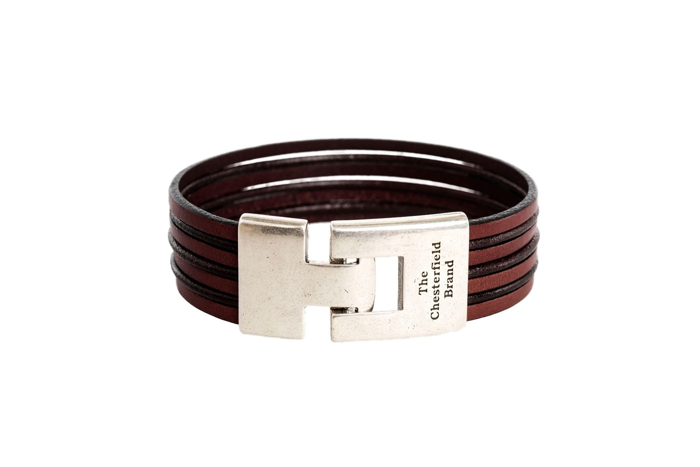 Image Of Leather Bracelet Brown Elvis