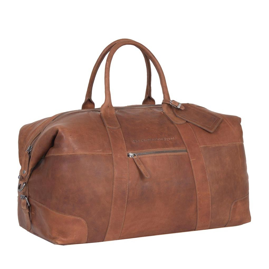 Leather Weekender Cognac Portsmouth