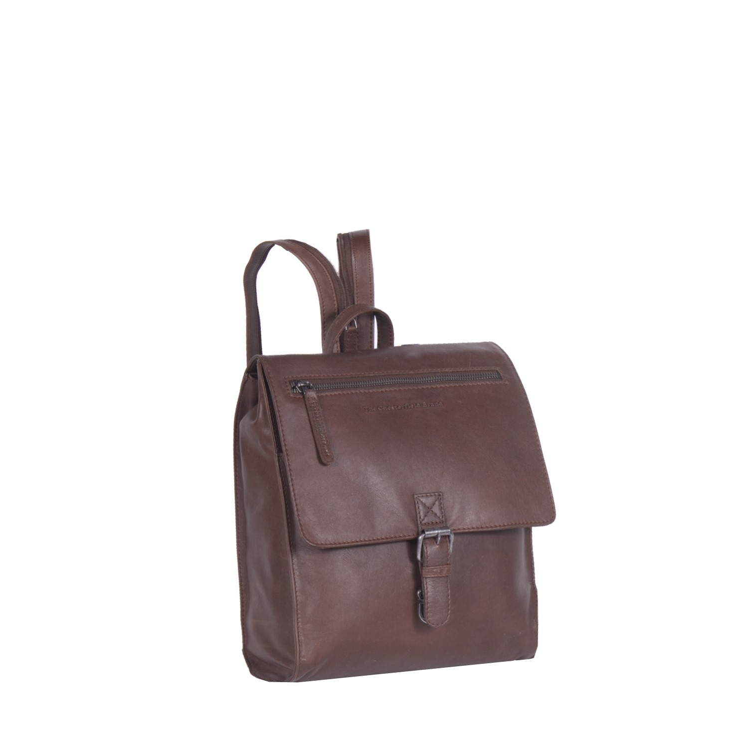 Image de Chesterfield Leather Backpack Brown Isa