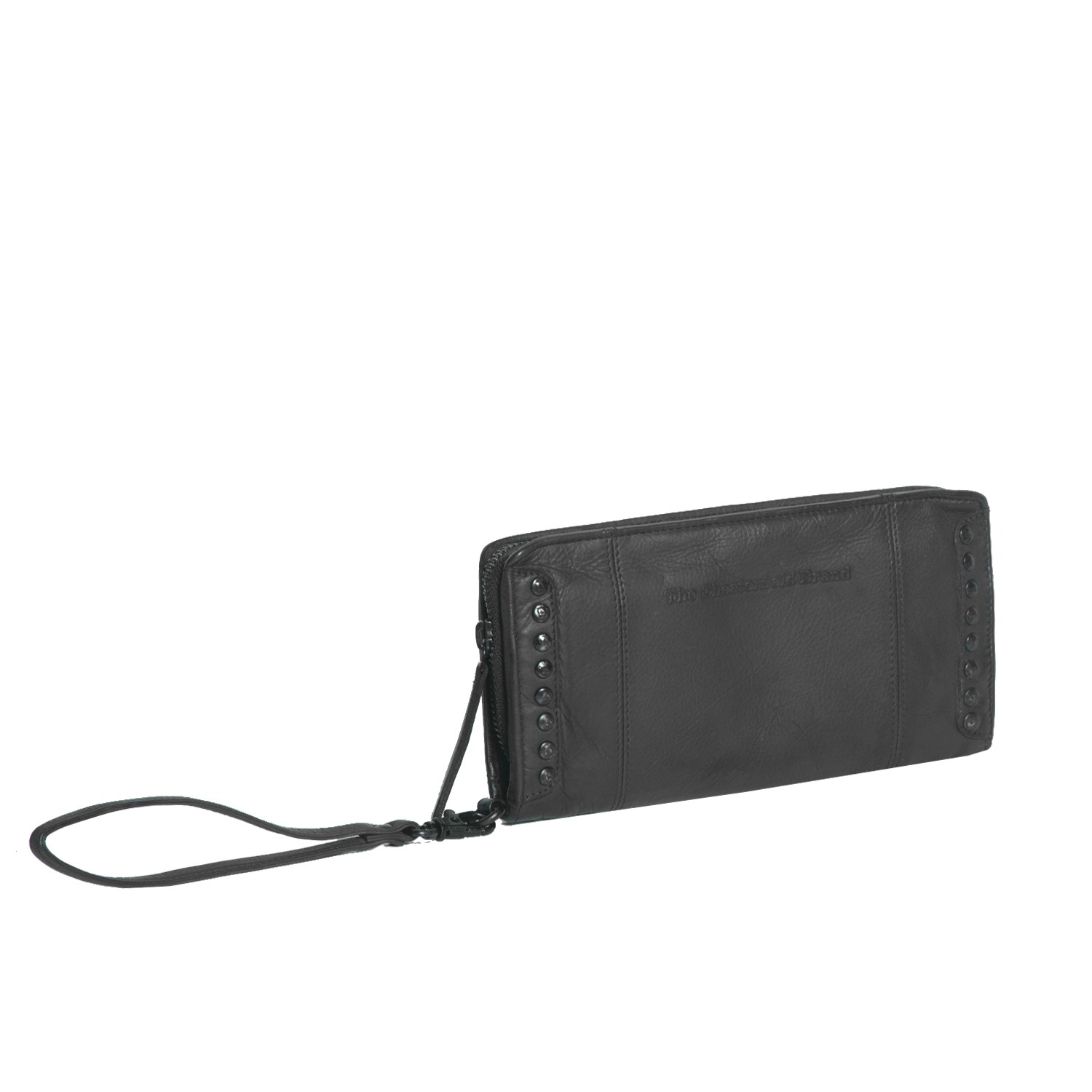 Bilde av Chesterfield Leather Clutch Black Label Anthracite Laiza