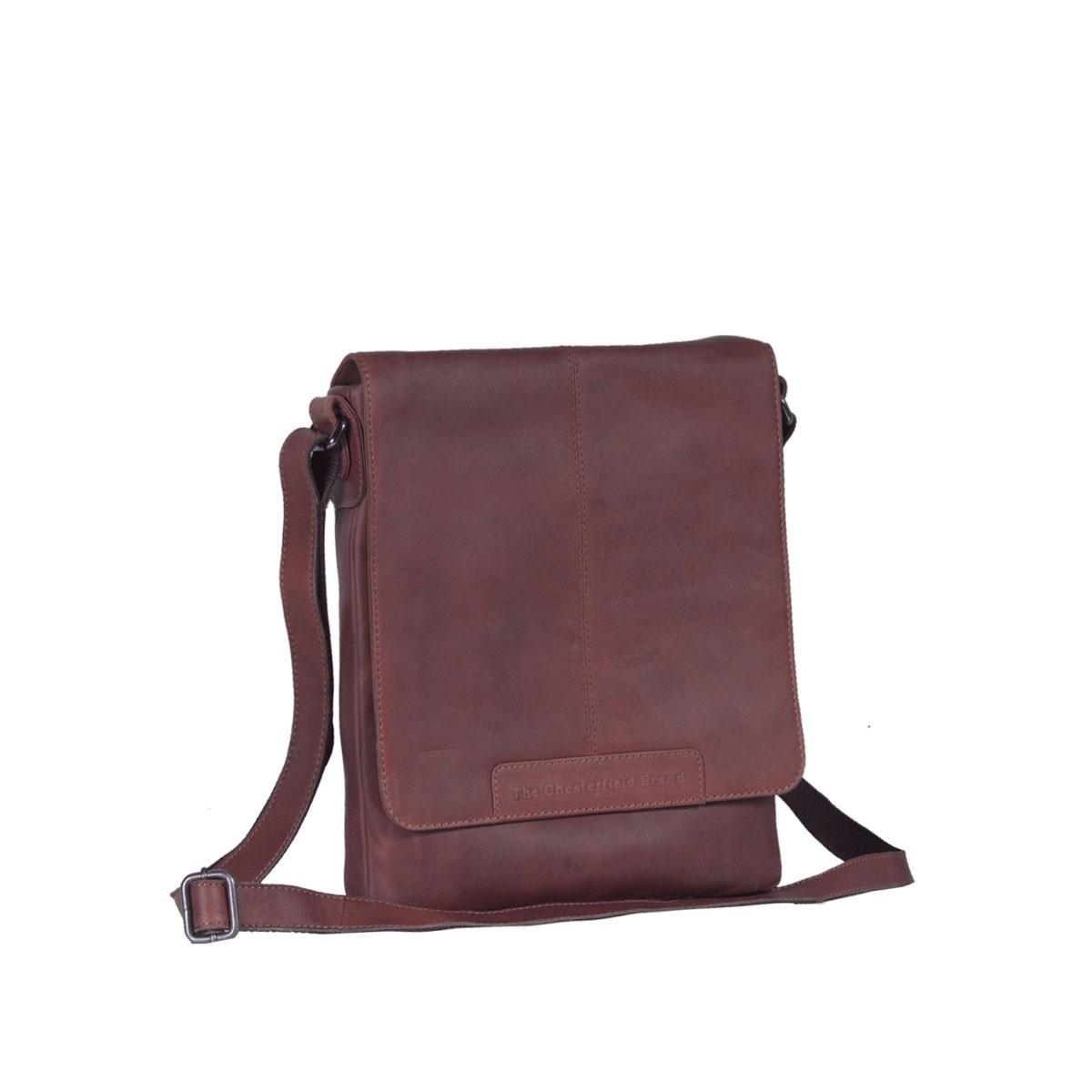 Image of Leather Shoulder Bag Brown Bliss