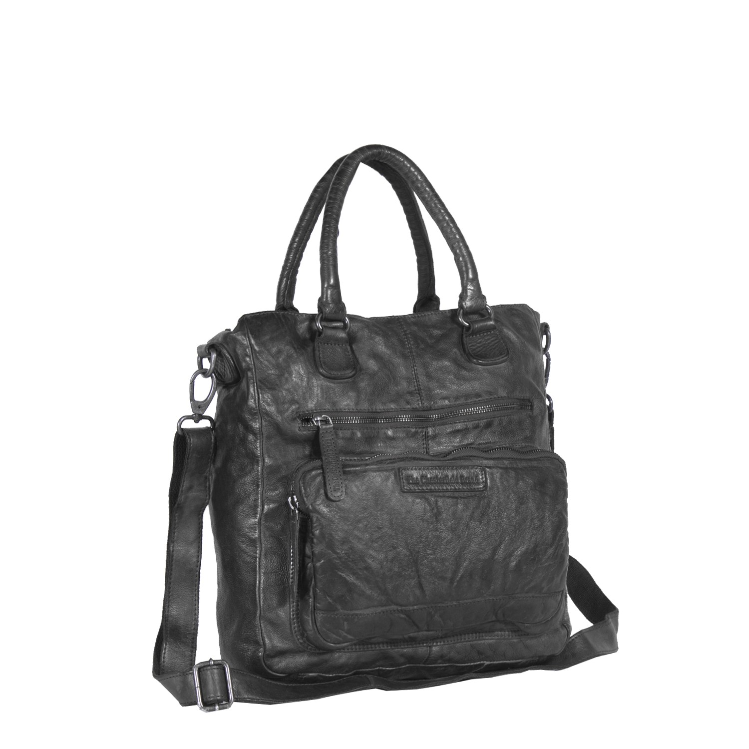 Bilde av Chesterfield Leather Shopper Bag Black Romy