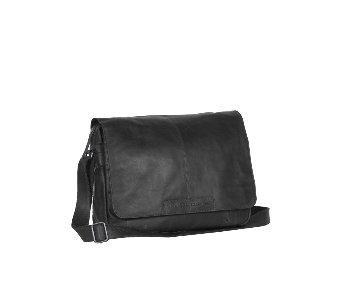 Imagem de Chesterfield Leather Laptop Bag Black Richard