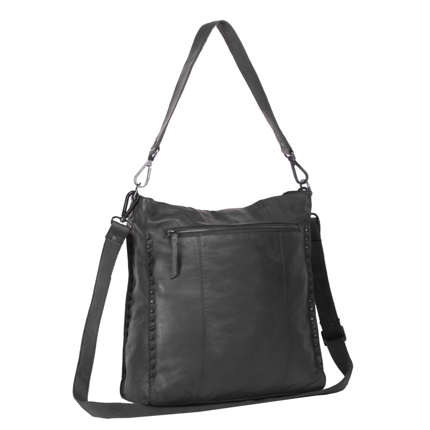 FREE SHIP Factory Price Hot Fashion Fringe Women s Tote Black Genuine  leather(Real Leather)Handbag Shoulder Bag Messenger Purse-in Crossbody Bags  from … b51897b08054d