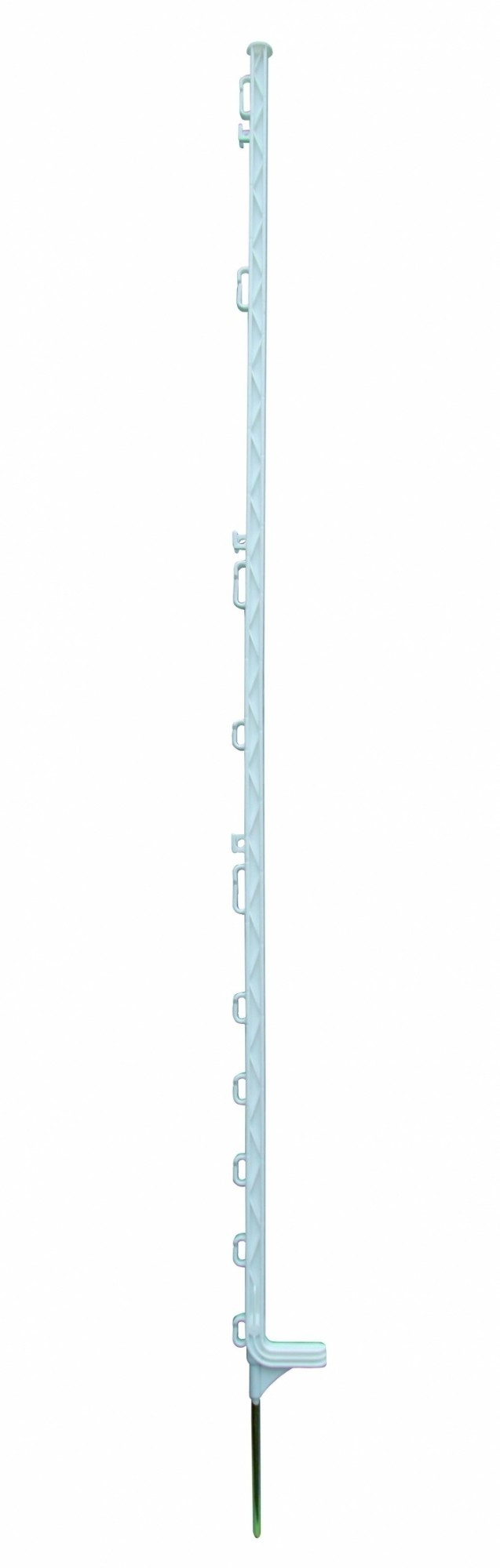Horizont kunststof paal Extra wit 13-ogen 169cm 10 stuks