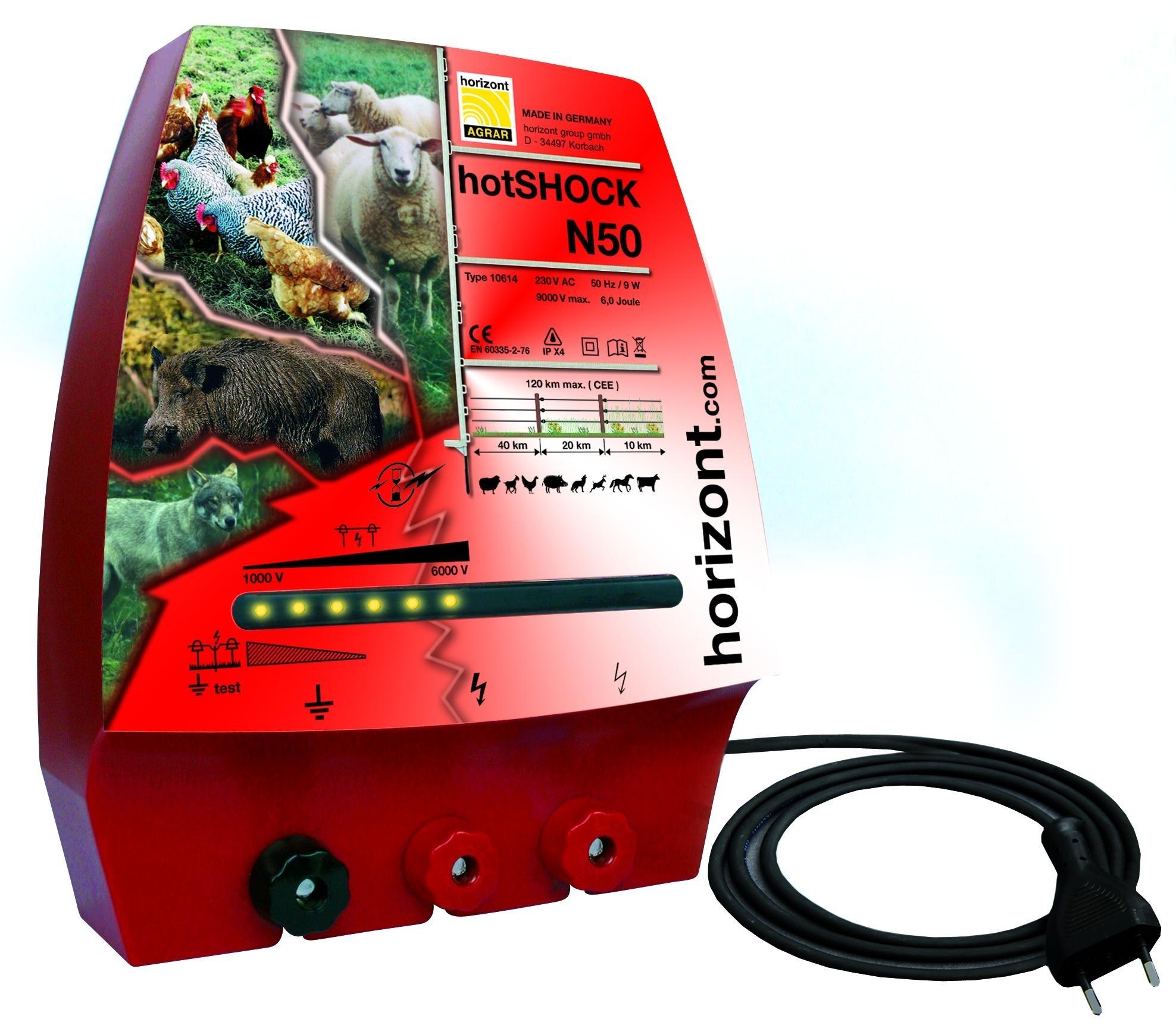 Horizont Hotshock N50 (netstroom) schrikdraadapparaat