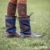 Afbeelding van Horka Greenwich leren outdoorlaars blauw/bruin