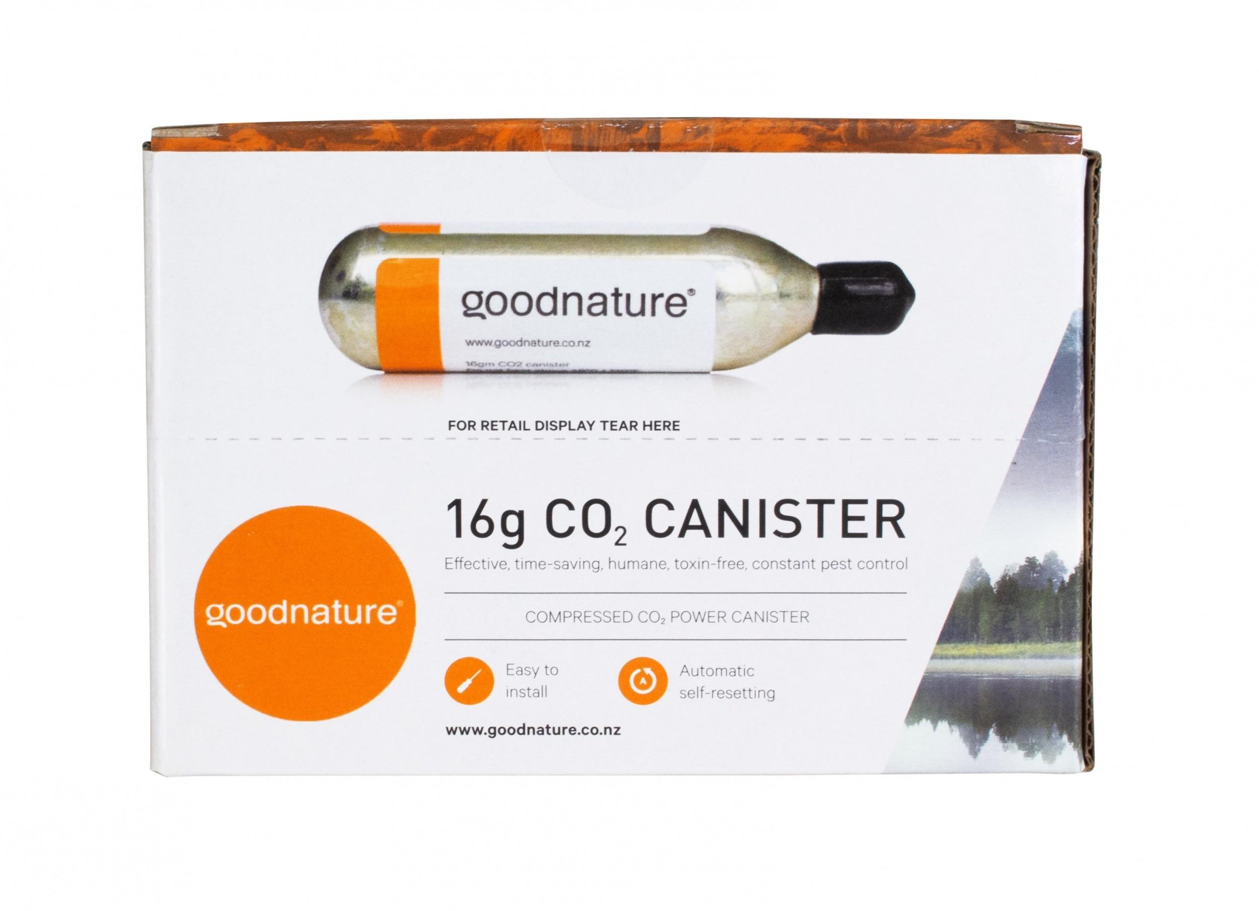 CO2 patronen 30 stuks voor de Goodnature muizen- en rattendoder