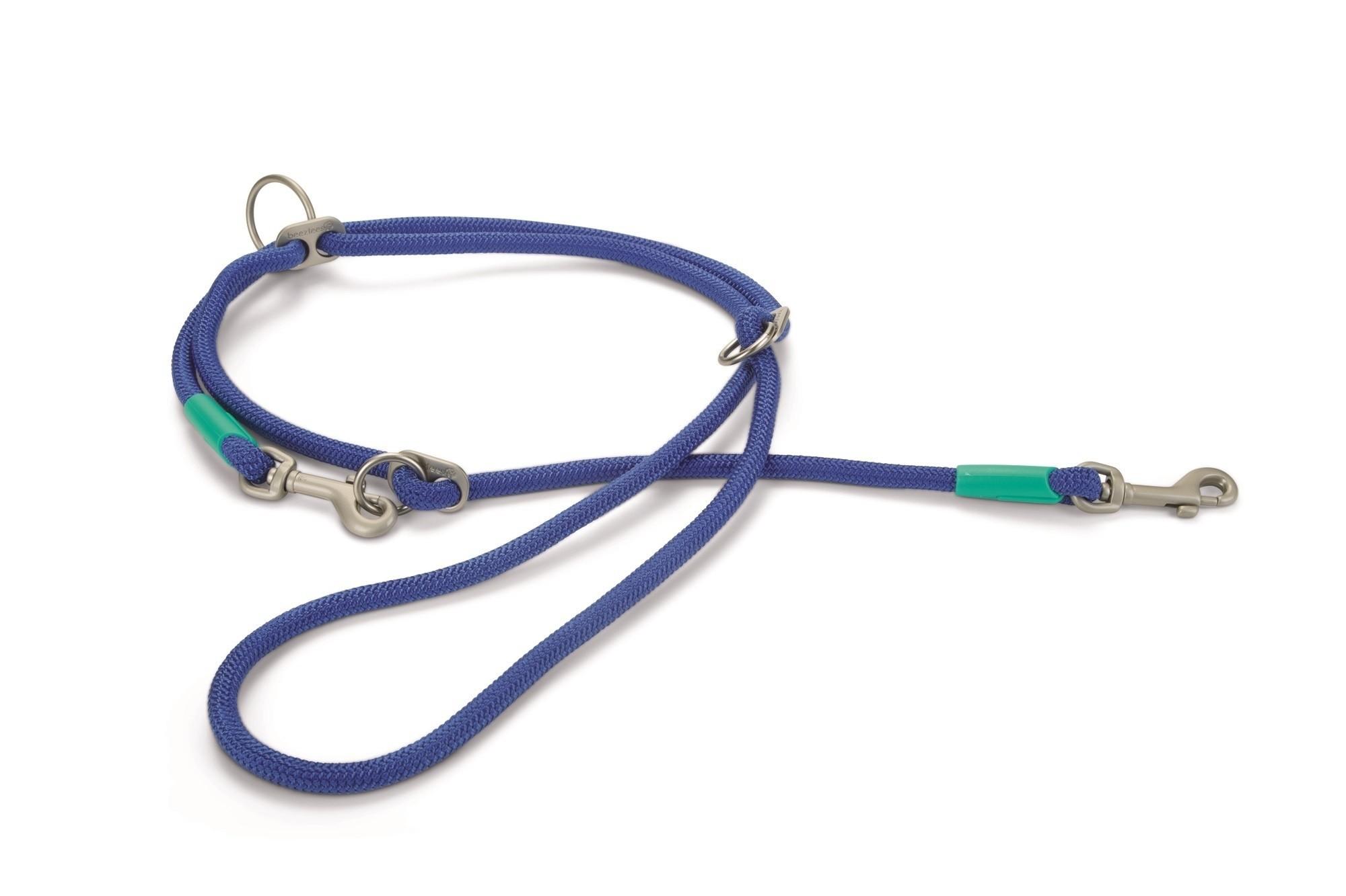 Hondendressuurlijn rond Nikra nylon Beeztees blauw 200cmx10mm