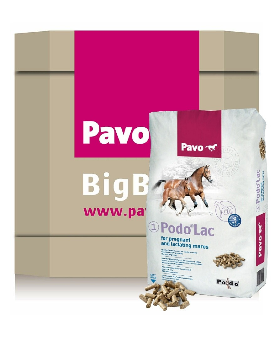 Pavo Podo Lac Big Box 725kg