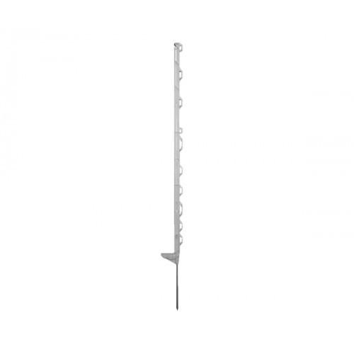 Horizont kunststof weidepaal Smart wit 115cm 10 stuks