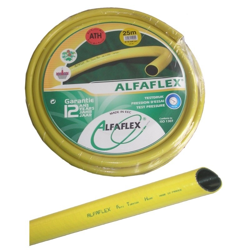Waterslang / tuinslang Alfaflex ATH 12.5mm (1/2 inch) 25mtr