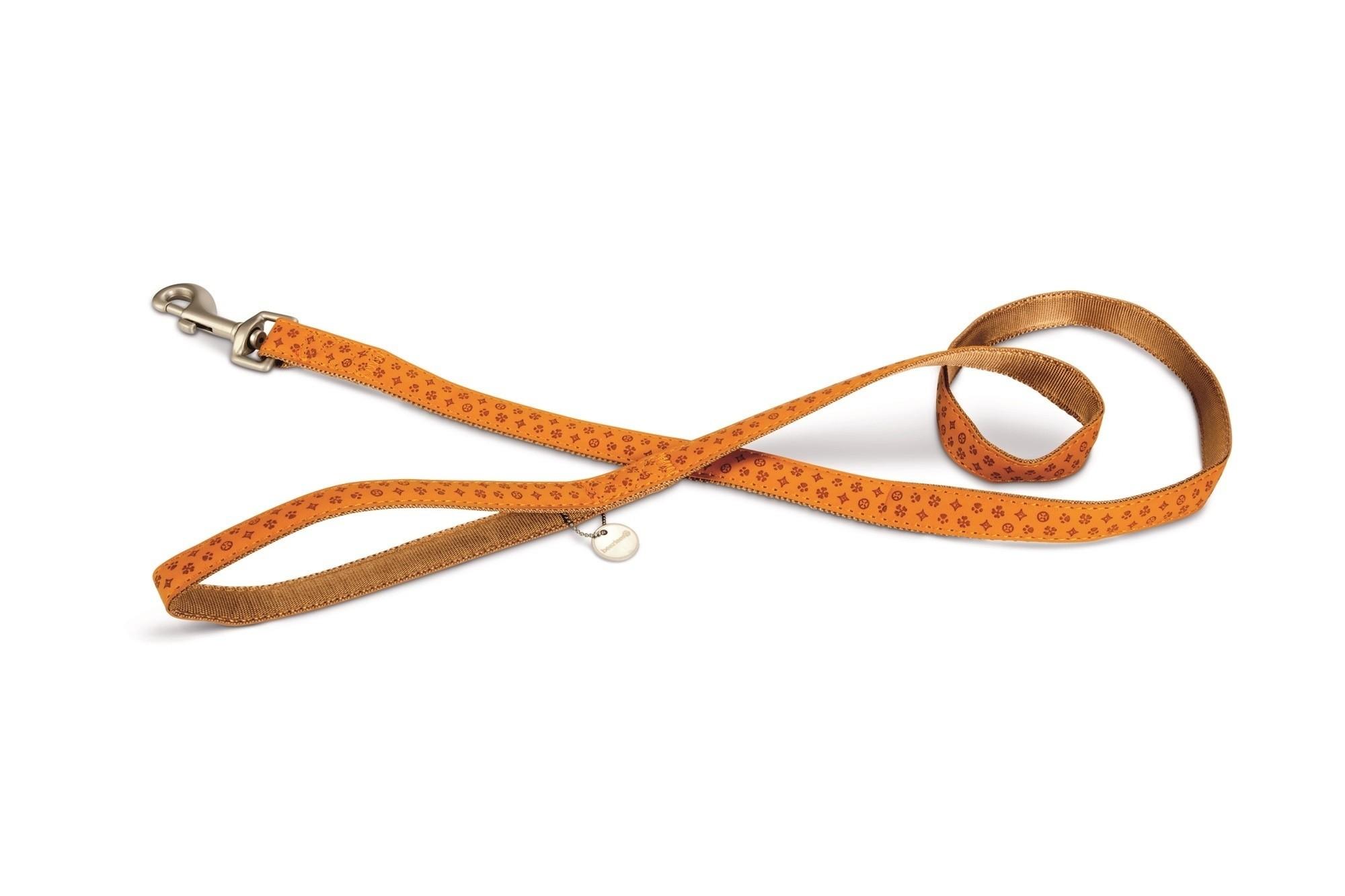 Hondenlooplijn Macleather Beeztees lichtbruin