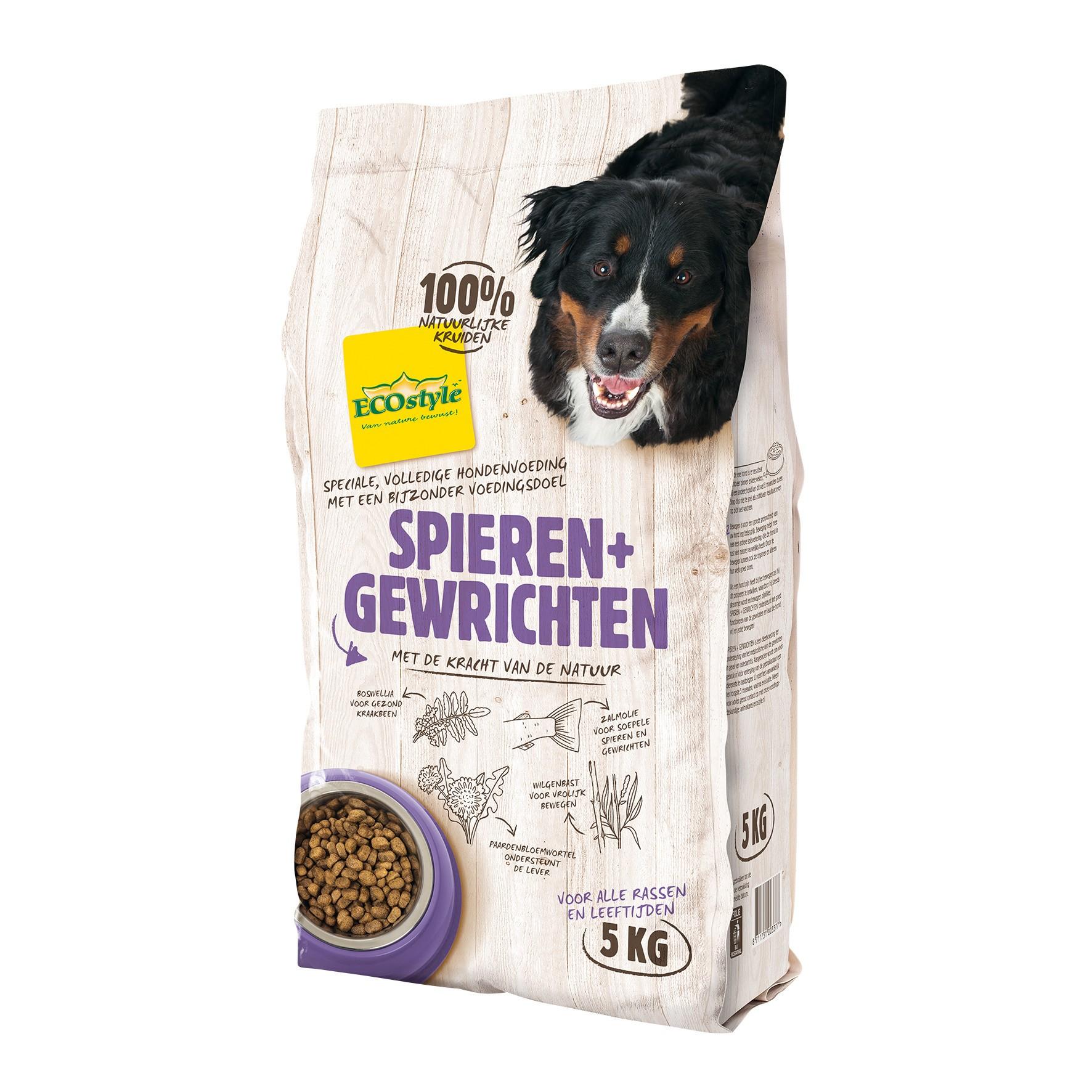 Ecostyle hondenvoer Spieren en Gewrichten 5kg