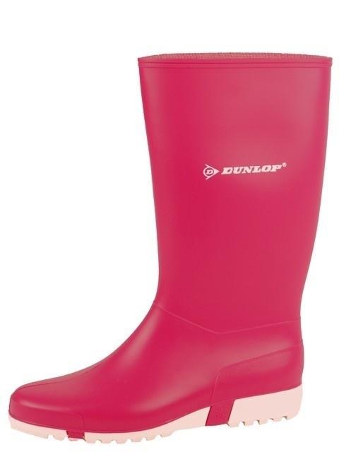 Dameslaars Dunlop PVC roze