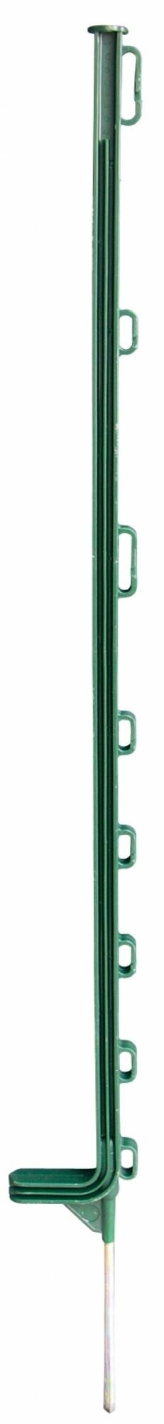Horizont kunststof paal Extra groen 10-ogen 108cm