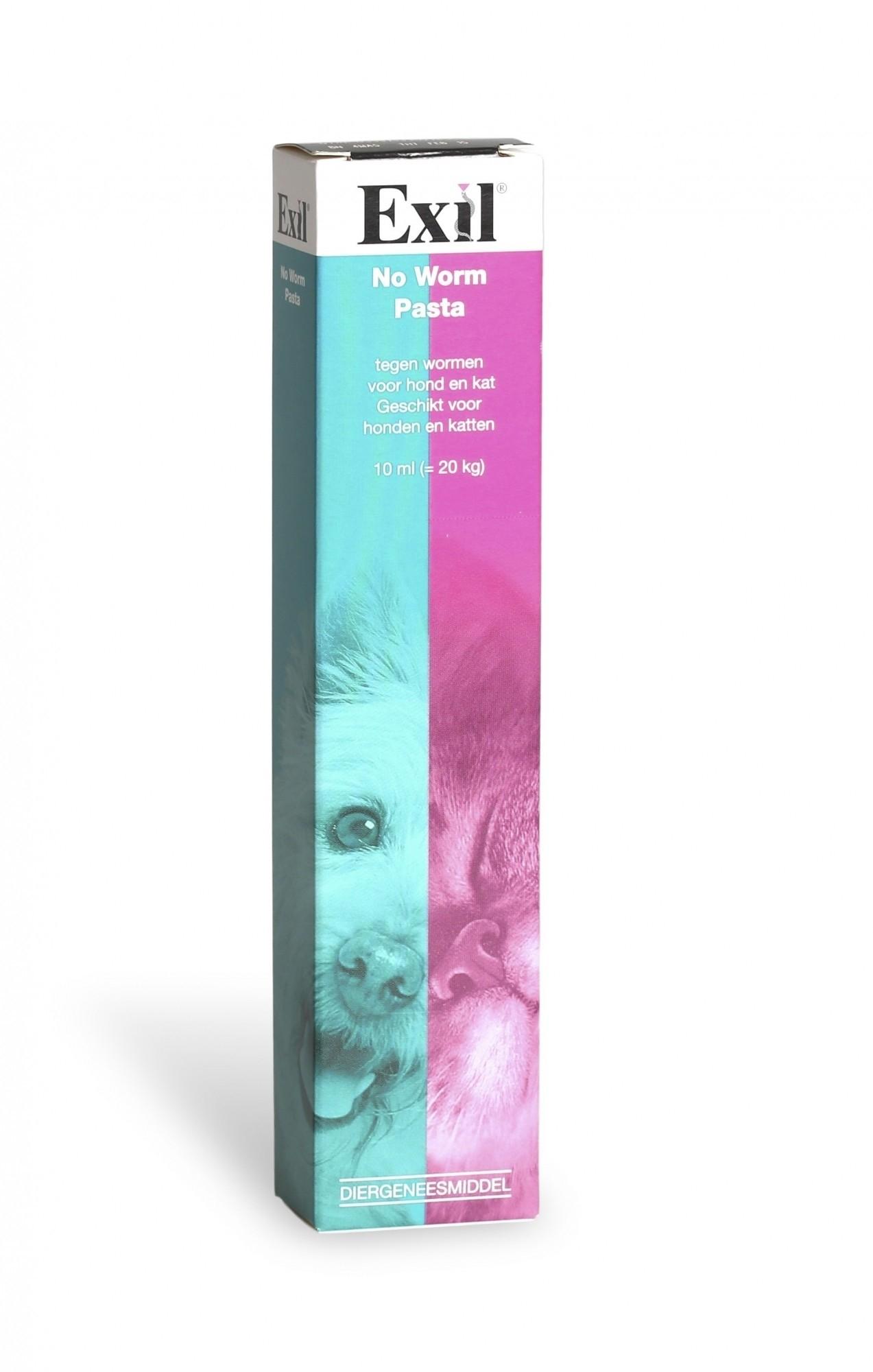 No Worm Pasta. Wormmiddel voor hond en kat 10 ml