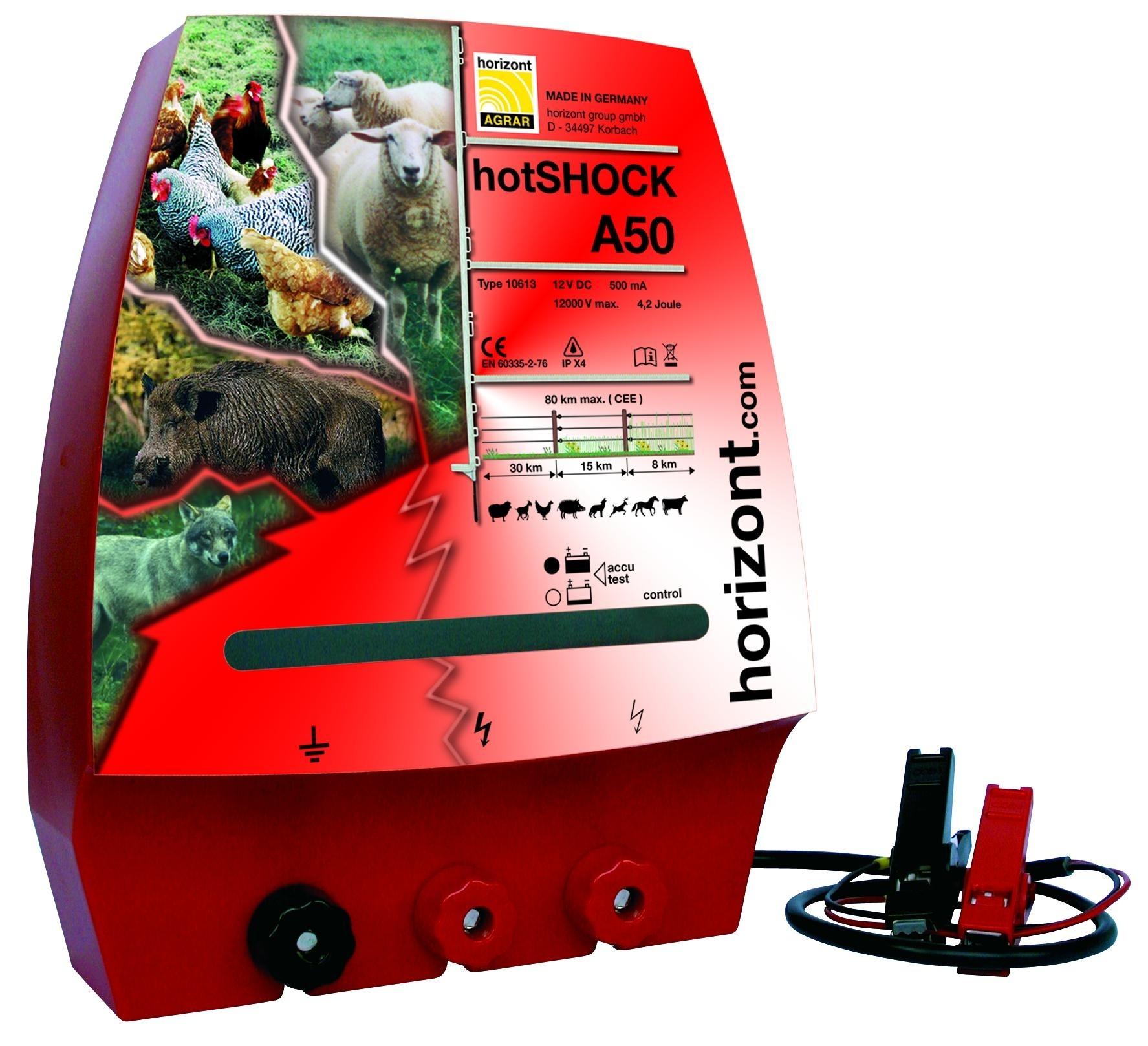 Horizont Hotshock A50 (accu) schrikdraadapparaat