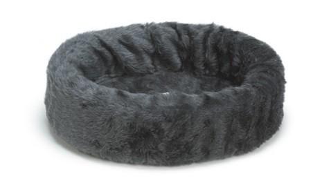 Beeztees hondenmand / teddymand grijs 40cm