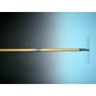 Tuinhark verzinkt 12 tands met steel 150cm