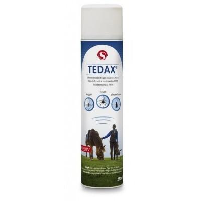 Foto van Tedax vliegen- en muggenspray 250ml
