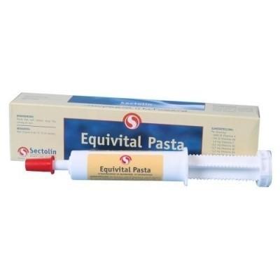 Foto van Equivital vitaminepasta paard