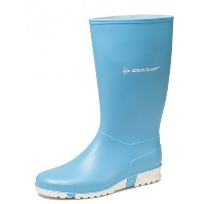 Foto van Dameslaars Dunlop PVC licht blauw