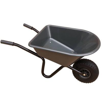 Foto van Kinderkruiwagen met antraciet kunststof bak