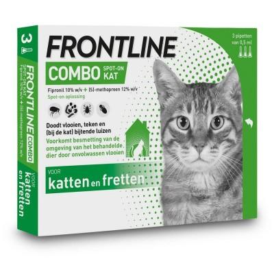 Foto van Frontline Combo spot on kat 3 pipet