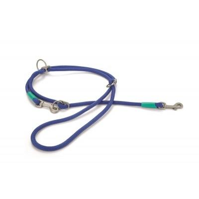 Foto van Hondendressuurlijn rond Nikra nylon Beeztees blauw 200cmx10mm