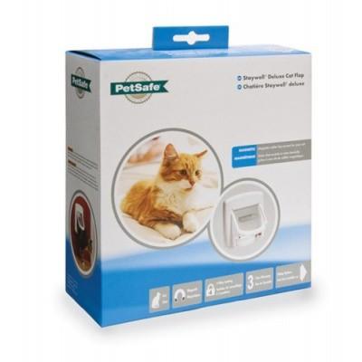 Kattenluik Petsafe 400 luxe magnetisch wit