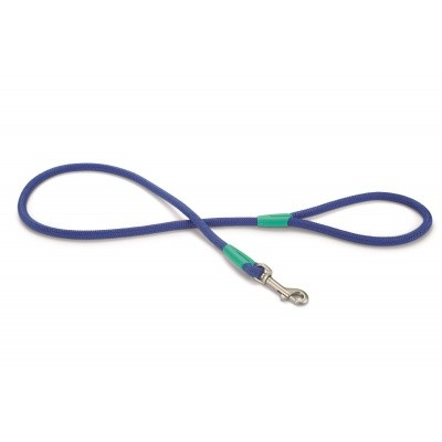 Foto van Hondenlooplijn rond Nikra nylon Beeztees blauw
